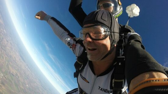 Skydiving is one of our favorite extreme Houston adventure.