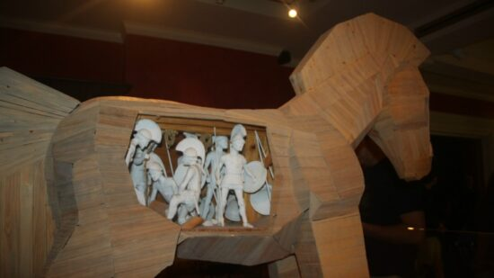 See a sizeable recreation of the legendary Trojan Horse at the International Spy Museum during a family trip to Washington DC.