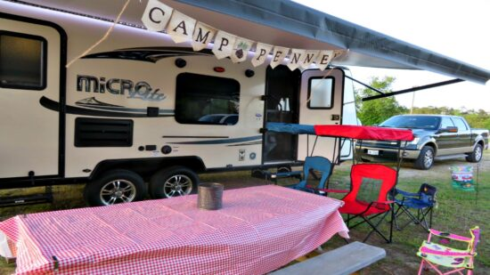 Travel trailer camping offers kids an opportunity to get outside, for families to unplug and a way to see new places cost effectively.
