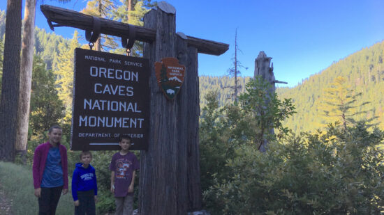 Explore cave tours in Oregon with kids.