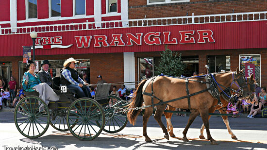 Everyone loves a parade, one of many fun thigns to do with kids in Cheyenne, Wyoming.
