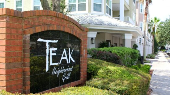 Teak Neighborhood Grill is a great choice if you're trying to decide where to eat in Orlando