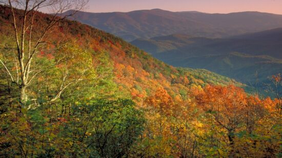 Spending Halloween at Georgia State Parks affords amazing views!