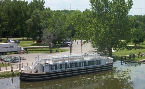 LaSalle Canal Boat