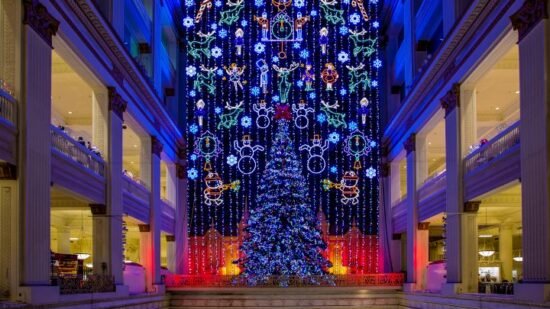 A favorite Philadelphia holiday tradition for decades, the light show at Macy's is narrated by Julie Andrews.
