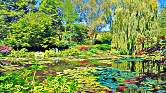 Monet's Gardens -the perfect day trip by train from Paris