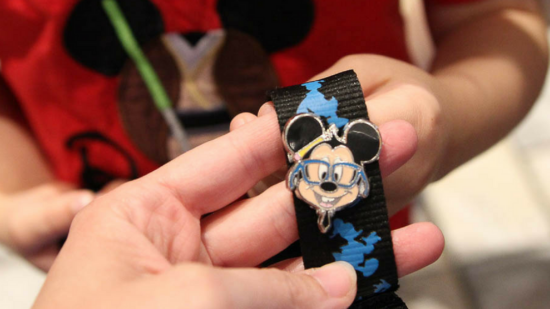 Pin trading is a fun activity at Magic Kingdom when kid's are scared of rides.