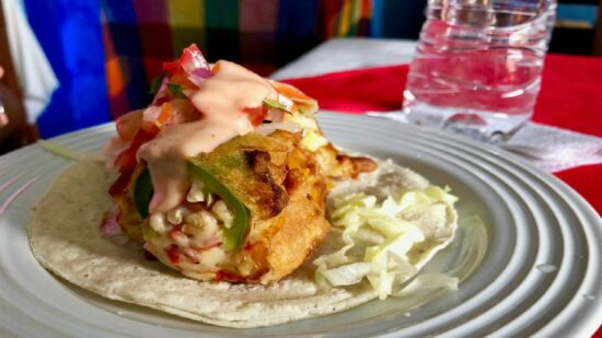 The deep-fried taco on Vallarta Food Tours was definitely something to write home about!