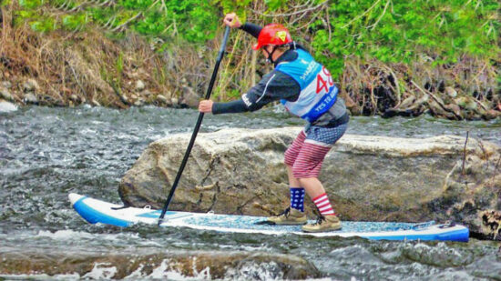 Stand Up Paddleboarding is one of many fun Things to Do In Golden CO
