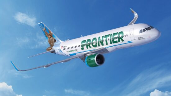 One of the low cost airlines Frontier aims to offer the cheapest airfare with no frills.