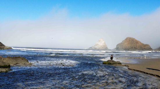 The Oregon Coast with kids is a great family vacation