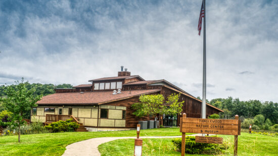 The beautiful - and free - Tanglewood Nature Center in Elmira, NY.