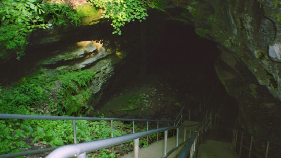Entrance to Mammoth Cave Kentucky