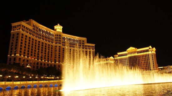 The Bellagio Fountains are one of the coolest Free Things To Do In Las Vegas with Kids.