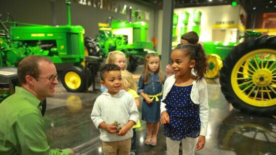 John Deere Museum is one of the free things to do in Cedar Falls, IA on TravelingMom