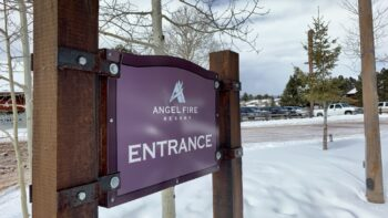 When planning a trip to a ski resort in New Mexico try Angel Fire Resort.