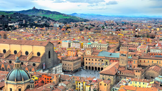 What a view of Emilia-Romagna Italy.