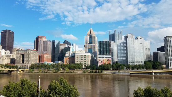 Downtown Pittsburgh from PNC Park