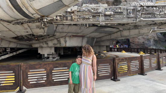 Every part of Galaxy's Edge has something to see.