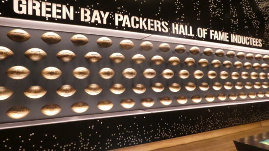 Green Bay Packers Hall of Fame at Titletown.