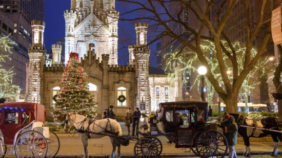 Don't miss Christmas in Chicago with holiday tours.