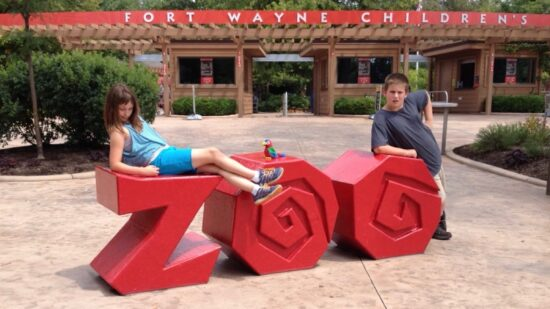 Travel with autistic child - Fort Wayne Children's Zoo.