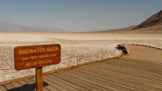 Death Valley National Park is one of the best family friendly day trips from Las Vegas.