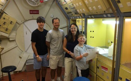 Family Space Camp, a great weekend getaway in the south.