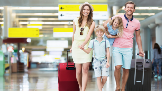 International packing list for families.