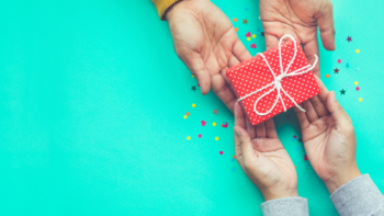 Giving someone a gift