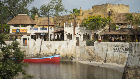 Harambe at Disney's Animal Kingdom is where to find Tusker House restaurant.