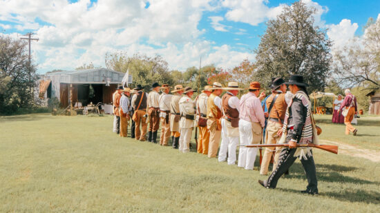 Come and Take It Re-enactment in Gonzales TX