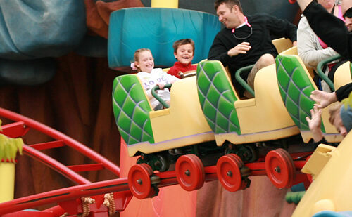 Tips for encouraging shy kids to be brave at Disney
