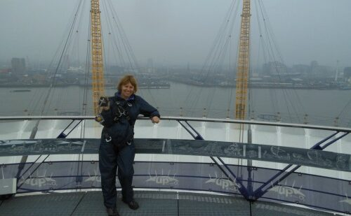 Visit London to climb the O2 Dome in London