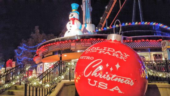 Holiday in the Park at Six Flags Over Georgia is bigger and better this year.