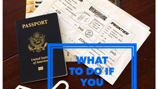 Tips if you lose ID when traveling