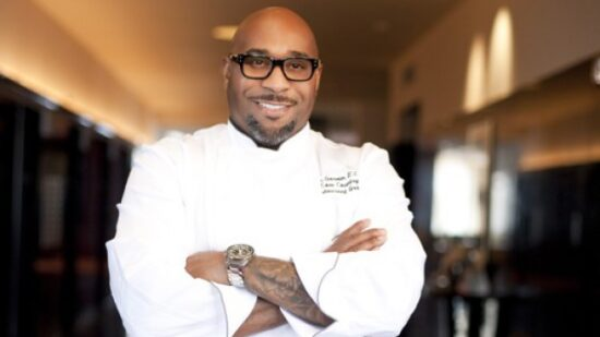 Chef G. Garvin is one of three guest authors taking part in the Black History Month Author Series at the American Adventure Pavilion at Epcot.