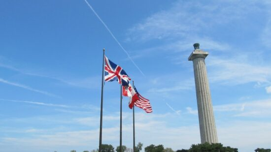 History lovers should stop at Perry's Monument on South Bass Island.