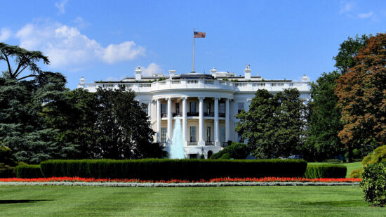 White House tours are available.