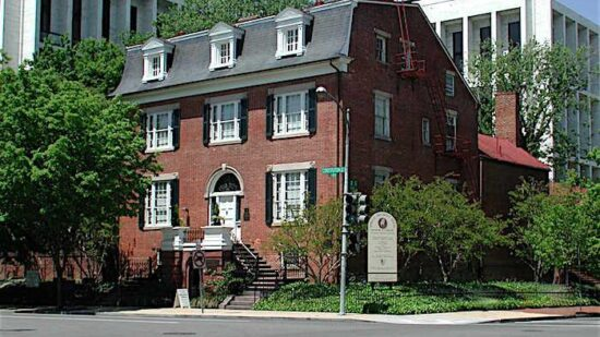 The Belmont-Paul National Monument is the newest monument on Capitol Hill and the ninth National Park site dedicated to women's history.