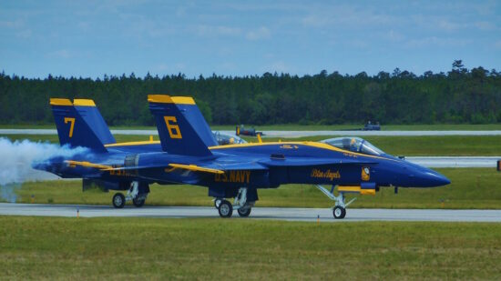 Blue Angels fly high in free demonstration shows., Free in Florida, Airshows, Military Airshows
