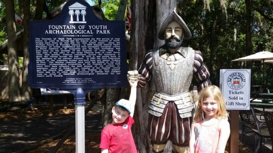 Exploring St. Augustine, Florida with kids