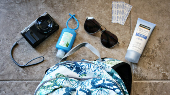 How to Pack a Well-Stocked Day Trip Bag - Free Printable Checklist!