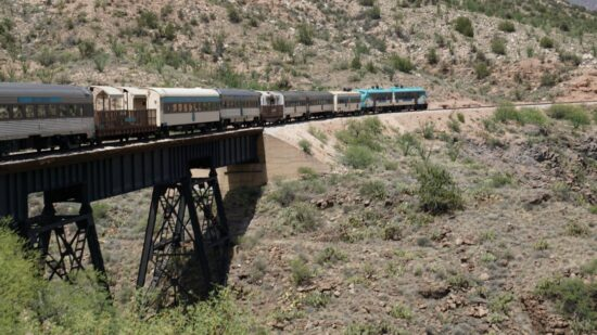 Want to take a train ride on the Verde Canyon Railroad with your family? Come aboard! Photo by Multidimensional TravelingMom, Kristi Mehes.