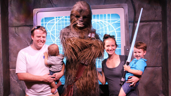 how to keep baby's routine on a vacation even in Disney