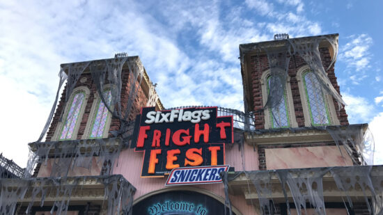 Enter if you dare to Fright Fest at Six Flags Over Georgia.