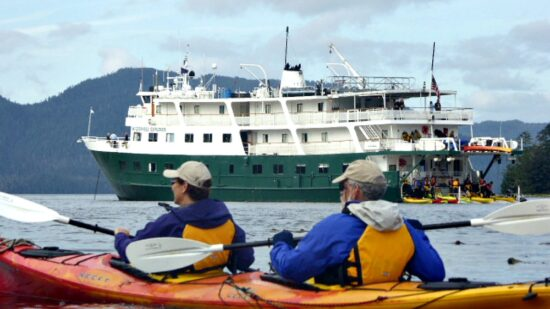 are there a lot of activities for a family on a small cruise ship like kayaking