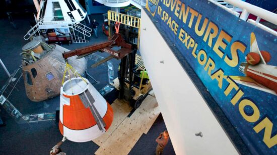 Part of a fun vacation can include learning! Serendipity TravelingMom Dee shares 4 places where you can learn the history of NASA and the space program.