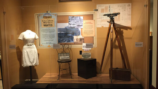 Looking for activities beyond the park in Hershey, PA? The Hershey Story Museum is a great pit stop for chocolate history!
