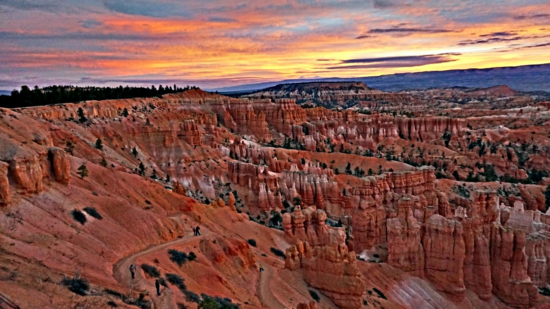 Planning a trip to Bryce Canyon. Good morning from the rim.